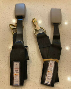 NEW Set Of 2 Safe Haven Toyota Sienna 2016 seat belt extenders FRONT ROW ONLY
