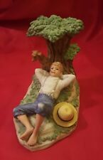 """""""Spring Fever"""" by Norman Rockwell 1981. Porcelain Figurine."""