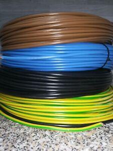 H07V-K 6mm² Aderleitungen  flexibel Meterware!! Farbe nach Wahl!