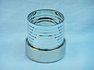 BEAUTIFUL STAINLESS STEEL TEA LIGHT CANDLE HOLDER DINING TABLE DECORATION