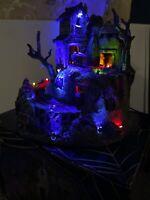 Rare Lemax Spooky Town Dead Man's Mine Halloween animated sound lighted MIB