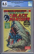 Jungle Action & Black Panther #14 CGC 8.5 VF+ OwWp Marvel Comics 1975 T-Rex Cvr