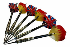 6 pcs (2 sets) Steel Needle Tip Dart Darts With Nice Flight Flights