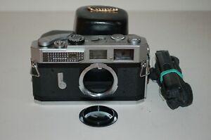 Canon-7 Vintage 1965 Japanese Rangefinder Camera. Serviced. No.921247. UK Sale
