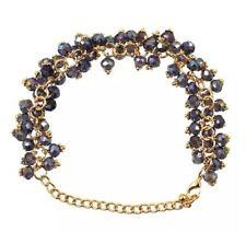 MACKRI athena Amethyst Crystal Beads Bracelet (Purple)