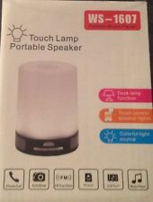 WSTER WS-1607 Touch Lamp Portable Speaker/Fashion Music Player