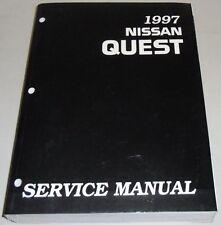 Manuel d'atelier / D'entretien Nissan Quest V40 (Ford Mercury Villager) 1997