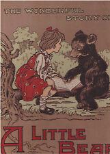 Mcloughlin Bros Story of Teddy the Bear Brothers Colour