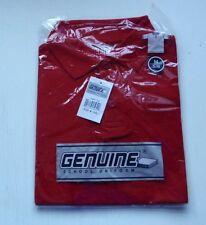 Boys School Shirts Uniform Shirts Everyday T Shirt Red Size 5 Medium, 7 Large