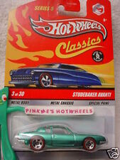2009 Hot Wheels S5 Classics STUDEBAKER AVANTI☆light Green-Teal ☆Series 5