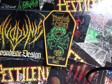 Morbus Chron Coffin Patch Woven Death Metal Dismember Entombed