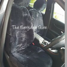 Toyota Landcruiser 200 Custom Made Sheepskin Seat Covers Combo Front Pair 30MM