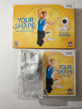 Your Shape: Featuring Jenny McCarthy (Nintendo Wii, 2009) NEW! Includes Camera!