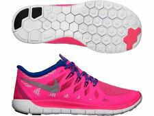 Nike Free 5.0 (GS) 64446-601 Pink White Youth 6.5Y