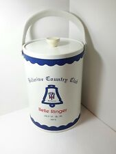 Vintage Bellerive Country Club 1975 Ice Bucket, Belle Ringer, St. Louis, MO