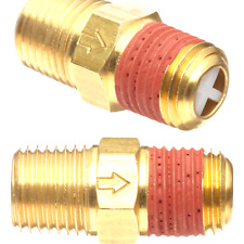 Control Devices-M2525-1WA Brass Ball Check Valve, 1/4