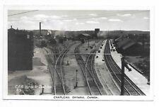 Sudbury District CHAPLEAU ONTARIO C.P.R. Yards & Stations