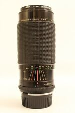 SIGMA 80-200mm 1:3.5-4 Zoom Camera Lens and Case. Olympus OM Mount