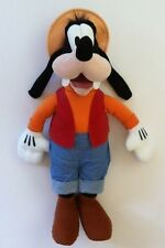 Disney Parks Authentic Goofy Gone Fishing Plush Doll Stuffed Animal Toy 20""