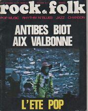 """ROCK & FOLK n°44 septembre 1970"" FESTIVAL DE BIOT (Photo Gilbert NENCIOLI)"