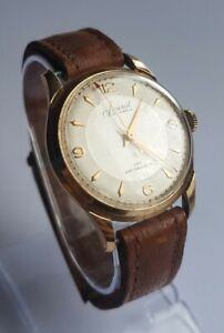 Beautiful Vintage Accurist 21 Jewels Men's Mechanical Watch For Repairs