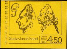 422670) Schweden MH 36 **, Kunst des 18. Jahrhunderts