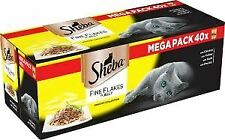 Sheba Fine Flakes Poultry Collection In Jelly (40Pk) 85g - 712814