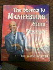DR. WAYNE W. DYER  - 4 Audio Cassette Programs