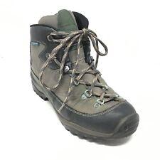 Men's VINTAGE Garmont Waterproof Hiking Boots Shoes Size 8 M US Black Brown I7