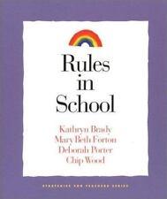 Rules in School (Strategies for Teachers, 4)