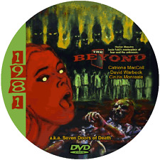 """The Beyond (1981) Sci-Fi and Horror NR CULT """"B"""" Movie DVD"""