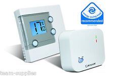 SALUS DIGITAL LCD ELECTRONIC WIRELESS ROOM THERMOSTAT STAT RT300RF BNIB