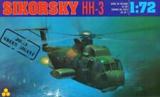 SIKORSKY HH-3E JOLLY GREEN GIANT (USAF MARKINGS, VIETNAM 1967) 1/72 AGA RARE