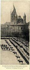 50.jähriges Jubiläum Rheinisches Kürassierregiment Nr.8 Graf Geßler Köln D. 1900