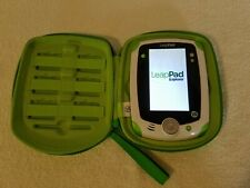 Leap Frog Leap Pad Explorer Tablet #32200 With Green Leapfrog Travel Case