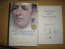 WILLIAM HAGUE - WILLIAM PITT THE YOUNGER  1st/1st   HB/DJ  2004  SIGNED