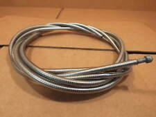 New-Old-Stock Shimano Brake Cable/Housing Set w/Clear Color and Red Labeling