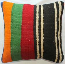 (35*35CM, 14 INCH) Handmade Boho pillow cover bold stripes