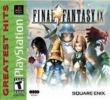 Final Fantasy IX (9) PS1; PlayStation 1; Resealed [Very Good]