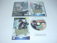 MEDAL OF HONOR : FRONTLINE game complete w/ instructions - Microsoft XBOX