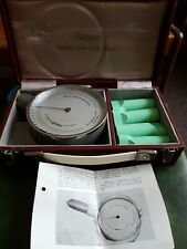Vintage Airmed Wright Peak Flow Meter in Box VG CONDITION medical equipment