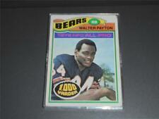 Topps 1977 WALTER PAYTON #360  1000 Yarder RB Chicago Bears Trading Card