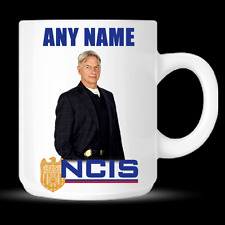 NCIS TV Show Leroy Jethro Gibbs Actor Mark Harmon Personalised Mug Cup - DE01