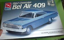 AMT 1962 CHEVY BEL AIR 409 1/25 Model Car Mountain KIT FS
