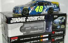 2016 Jimmie Johnson #48 LOWE'S 7X CHAMPION GALAXY COLOR 1/24 car#156/241 RARE