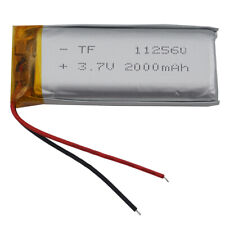 3.7V 2000 mAh 112560 Polymer Li battery For GPS PSP Phone tv box play Tablet PC