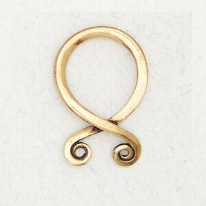 Druid's Knot-Bronze Occult Medieval Pagan Irish Gold Pendant Jewelry