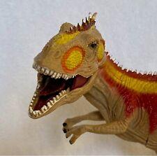 Sde Shantou Giganotosaurus Tyrannosaurus Dinosaur Movable Jaw Figure Red Yellow