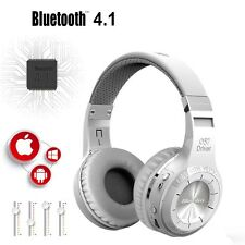 BLUEDIO H-Turbine Bluetooth 4.1 Wireless stereo headphone headset -white New