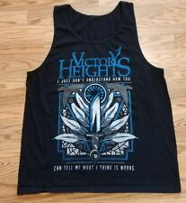 Victory Heights I Dont Understand Tank Top Men's Large Shirt Fast Shipping